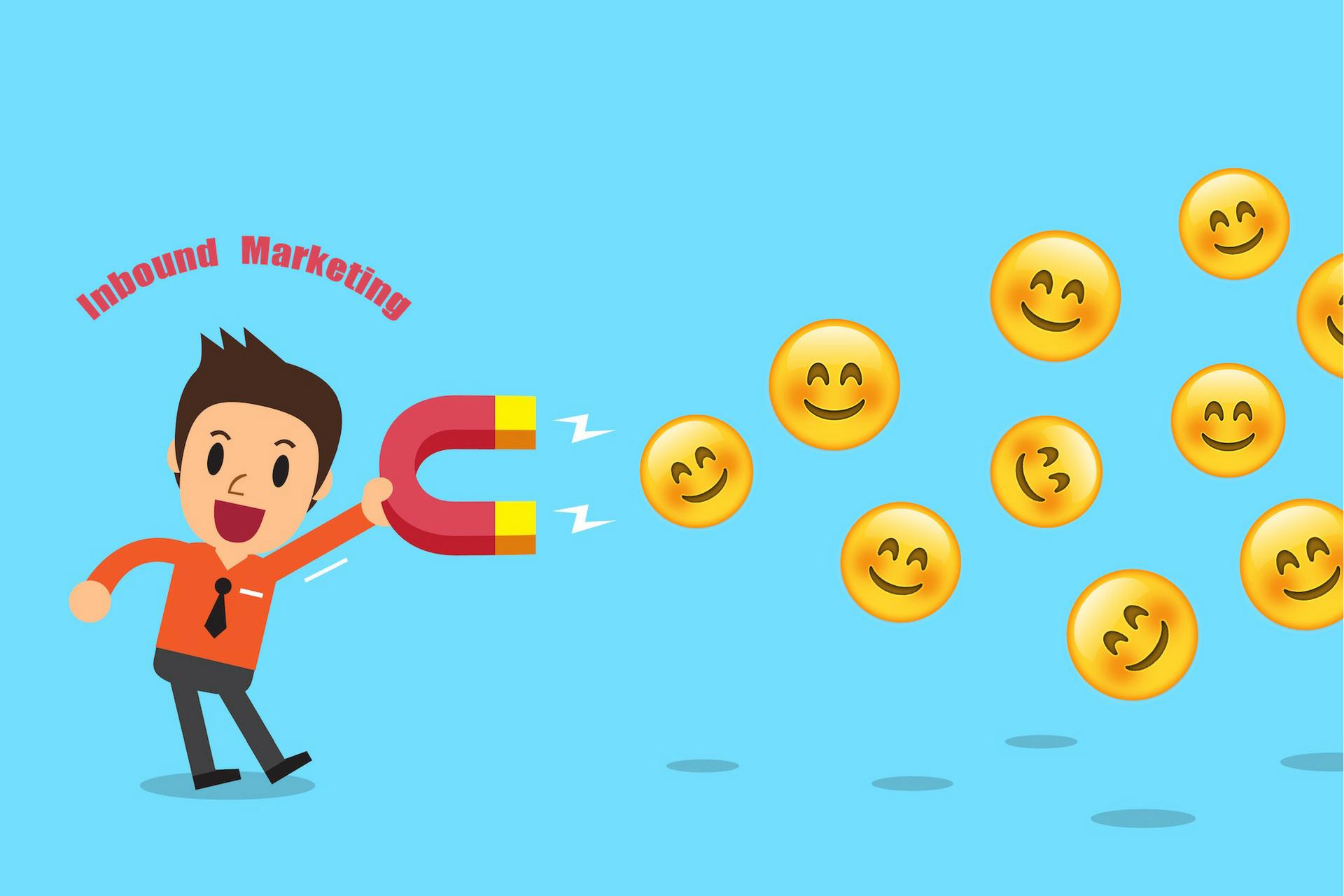 Inbound Marketing: magnetising happy faces